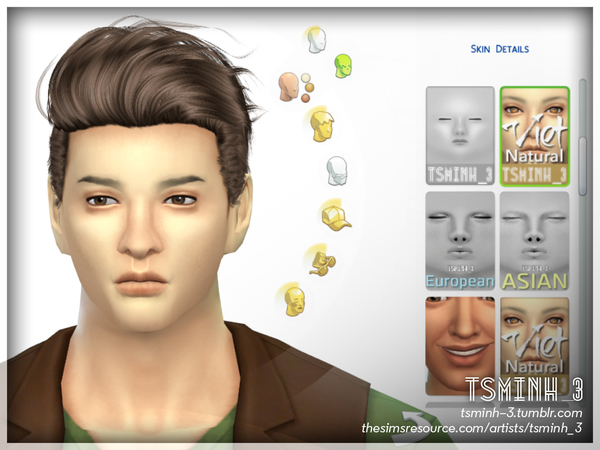 VIET Natural Face Skin by tsminh 3 at TSR image 4723 Sims 4 Updates