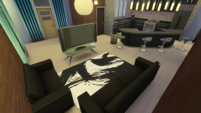 Sandtrap Bachelor Pad by RayanStar at Mod The Sims image 474 670x377 Sims 4 Updates