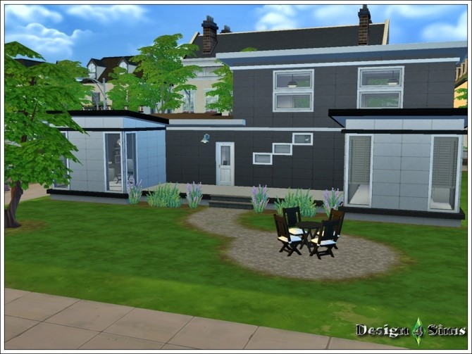 Sims 4 Yin & Yang house at    select a Sites