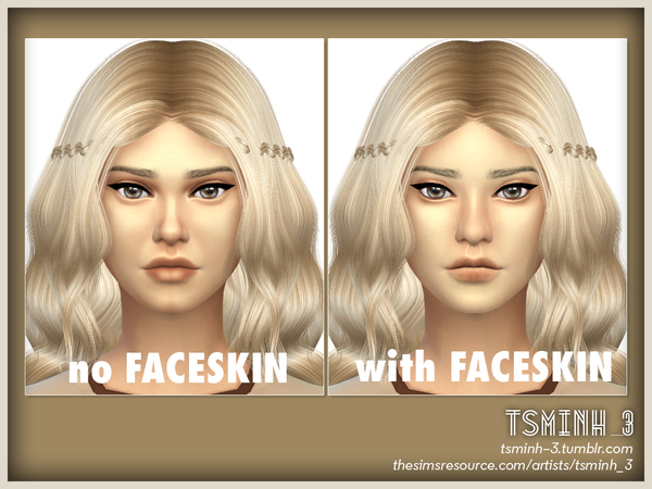 VIET Natural Face Skin by tsminh 3 at TSR image 4823 Sims 4 Updates