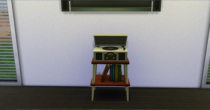 Vinyl Stereo Record Player by AdonisPluto at Mod The Sims image 511 670x352 Sims 4 Updates