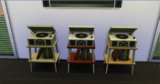Vinyl Stereo Record Player by AdonisPluto at Mod The Sims image 521 670x352 Sims 4 Updates