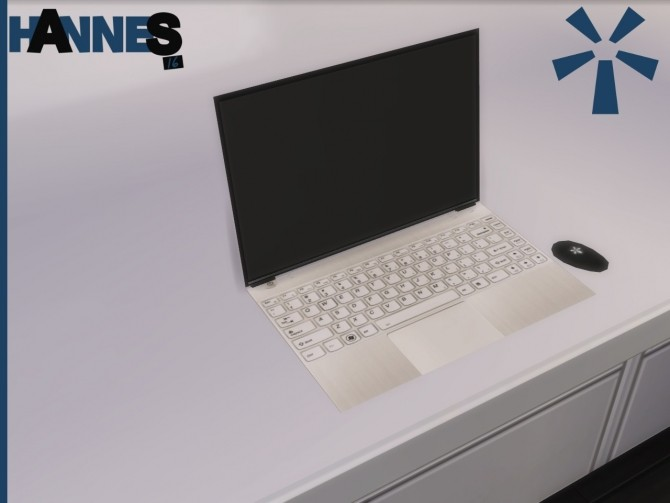 H-Teck Ultimate Edition Laptop by Hannes16 at Mod The Sims » Sims 4 Updates