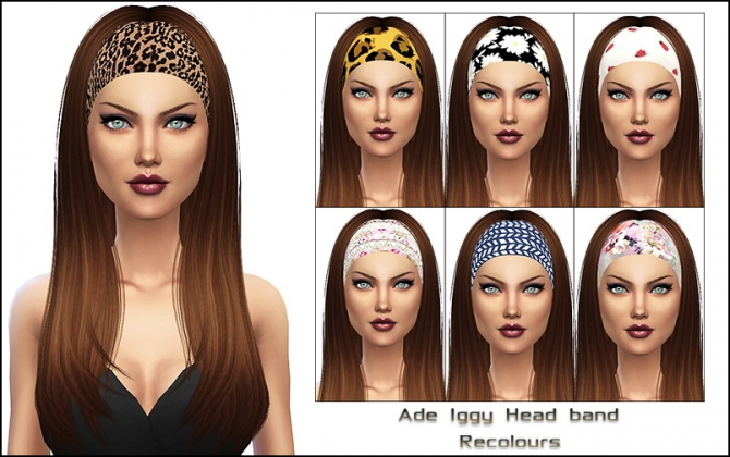 Ade Iggy Headband Recolors At Nylsims 187 Sims 4 Updates