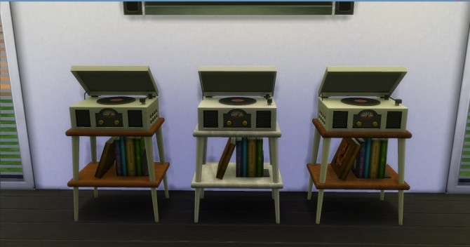 Sims 4 Vinyl Stereo Record Player by AdonisPluto at Mod The Sims