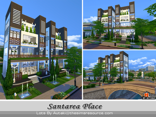 Santarea Place by autaki at TSR image 5417 Sims 4 Updates