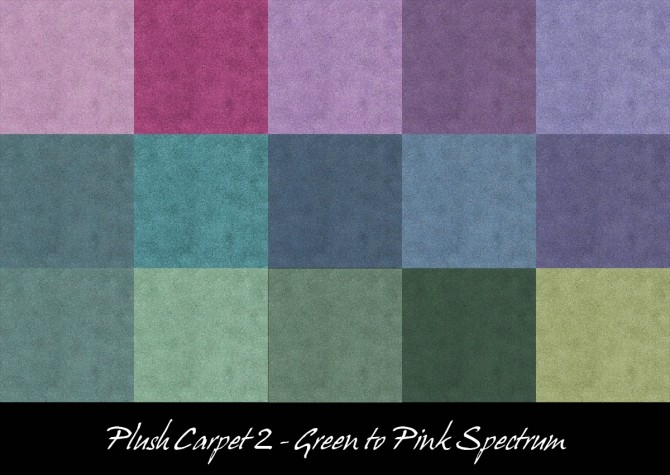 Sims 4 Plush Carpet 2 by Simmiller at Mod The Sims
