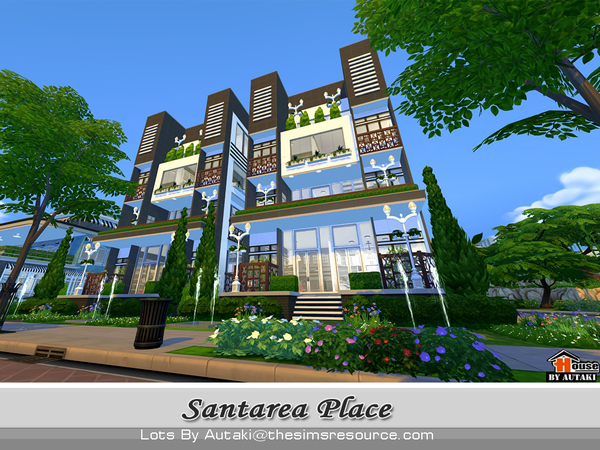 Santarea Place by autaki at TSR image 5517 Sims 4 Updates