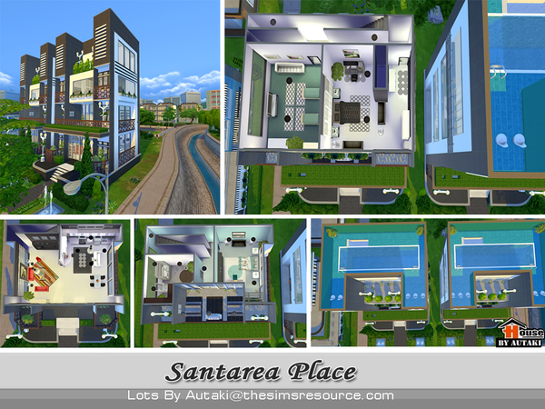 Santarea Place by autaki at TSR image 5617 Sims 4 Updates