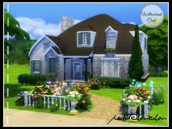 Willowbank Crest house by petitchouchou at TSR image 5618 Sims 4 Updates
