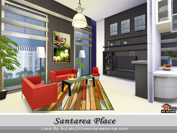Santarea Place by autaki at TSR image 5718 Sims 4 Updates