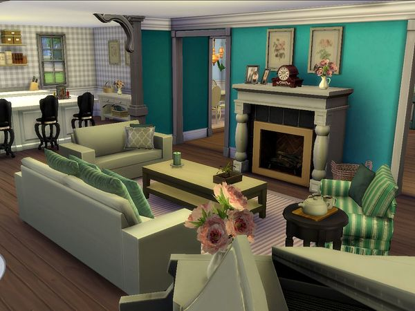 Willowbank Crest house by petitchouchou at TSR image 5719 Sims 4 Updates