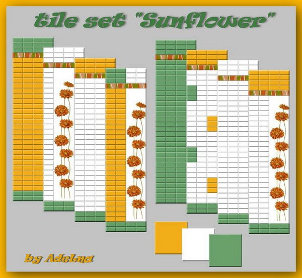 Sunflower tile set by AdeLanaSP at Mod The Sims image 58 Sims 4 Updates