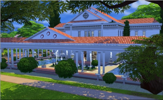Roman Baths by Moni at ARDA image 5813 670x411 Sims 4 Updates