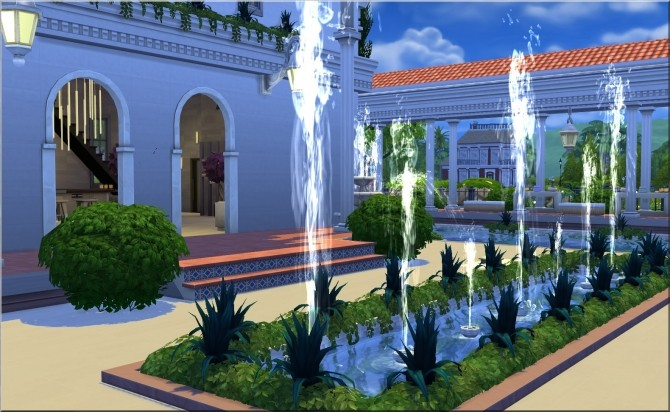 Roman Baths by Moni at ARDA image 5912 670x412 Sims 4 Updates