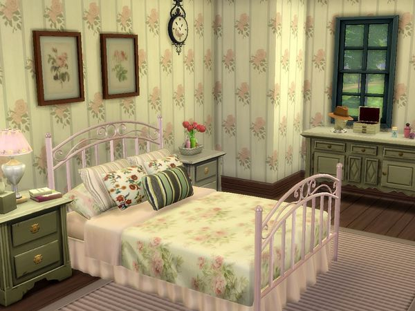 Willowbank Crest house by petitchouchou at TSR image 5919 Sims 4 Updates