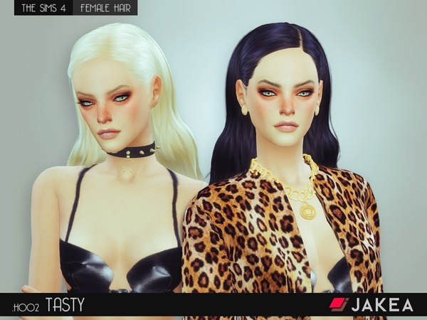 JAKEA H002 TASTY female hair by JK Sims at TSR image 5921 Sims 4 Updates