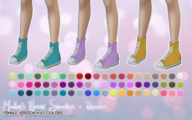 Madlens sneakers recolors at Aveira Sims 4 image 6010 670x420 Sims 4 Updates