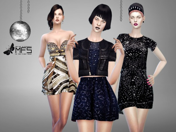 Sims 4 MFS Lets go party collection by MissFortune at TSR