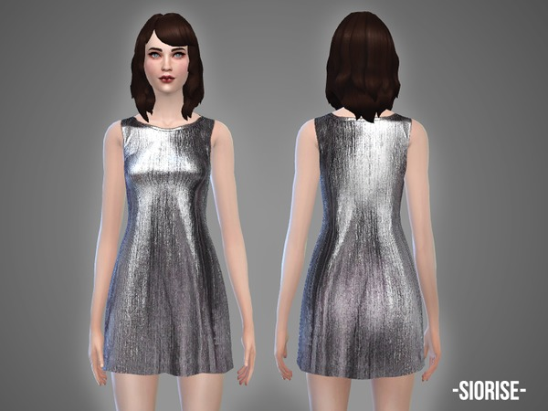 Sims 4 Siorise dress by April at TSR