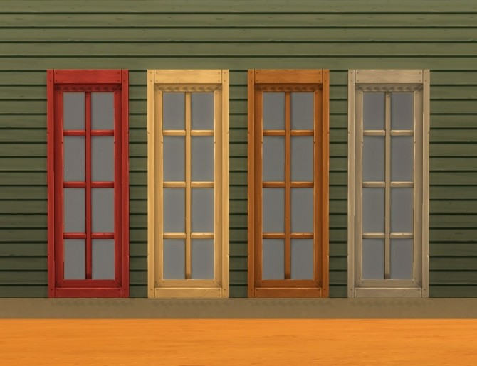 Sims 4 Mega Double Budget Grand Deluxe Delite Window Add Ons by plasticbox at Mod The Sims