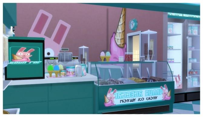 Freezer Bunny Ice Cream Stand V2 0 Retail Build At