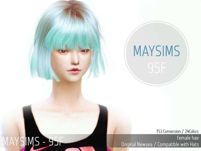 hair 95f newsea at may sims sims updates