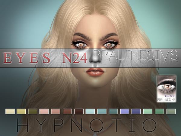 Sims 4 Hypnotic Eyes N24 by Pralinesims at TSR