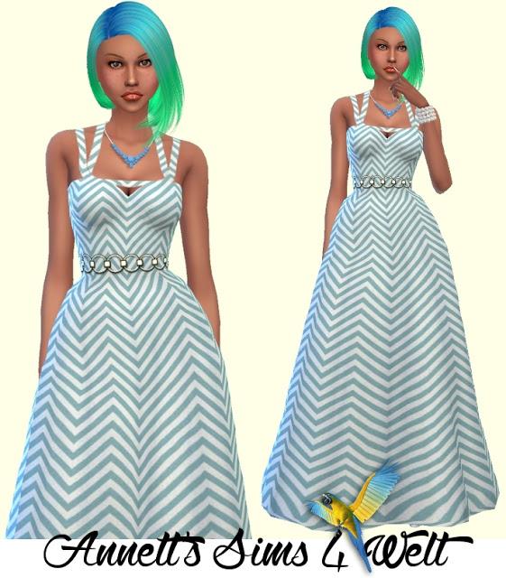 Sims 4 Prom Dress Part 2 at Annett's Sims 4 Welt