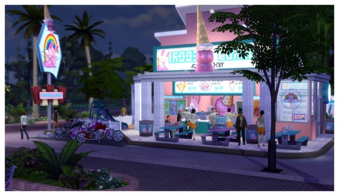 Freezer Bunny Ice Cream Stand V2 0 Retail Build At
