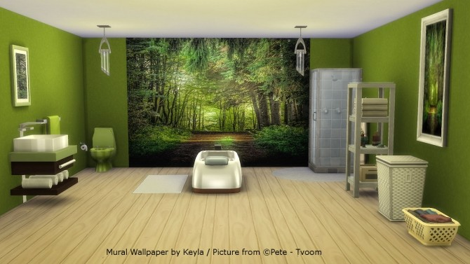 Mural Wallpapers 2 at Keyla Sims image 6810 670x377 Sims 4 Updates