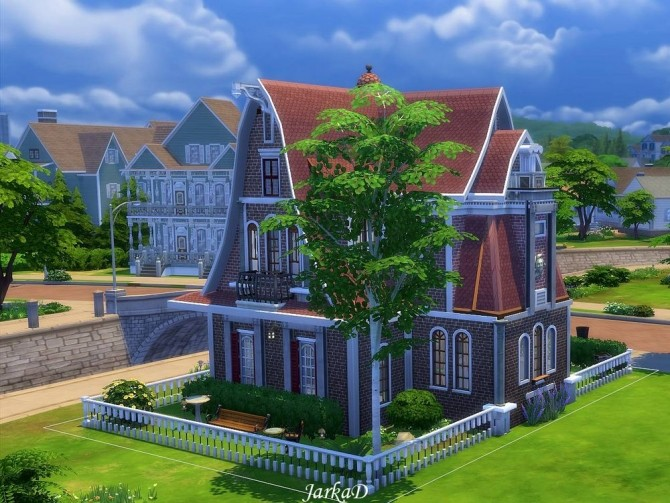 Sims 4 Family House No.10 at JarkaD Sims 4 Blog