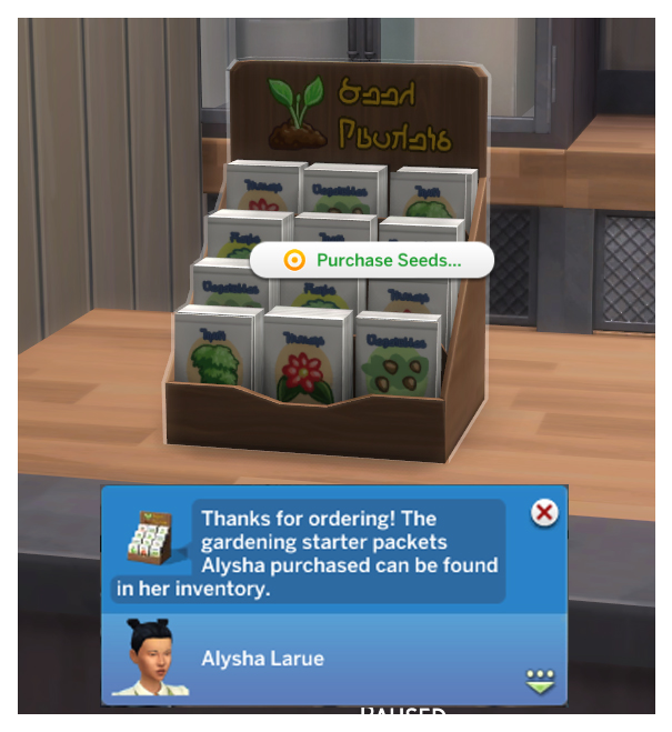 Sims 4 Functional Retail Little Sprout Seed Display by Menaceman44 at Mod The Sims