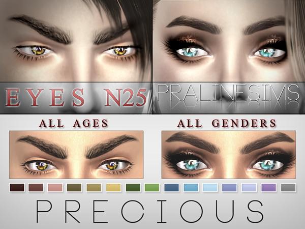 Sims 4 Precious Eyes N25 by Pralinesims at TSR