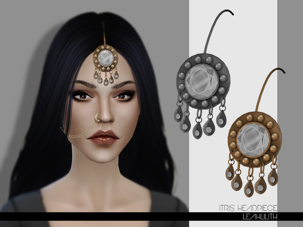 Itris Headpiece by Leah Lilith at TSR image 7121 Sims 4 Updates