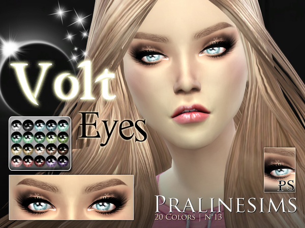 Volt Eyes by Pralinesims at TSR image 729 Sims 4 Updates