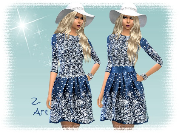 All Over Lace by Zuckerschnute20 at TSR image 760 Sims 4 Updates