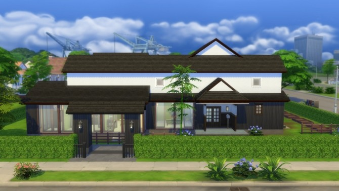 Japanese Style House 22 By Masaharu777 At Mod The Sims