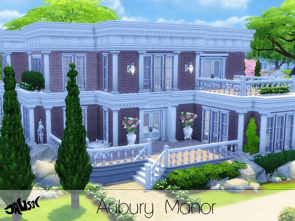 Sims 4 Aubury Manor by Jaws3 at TSR