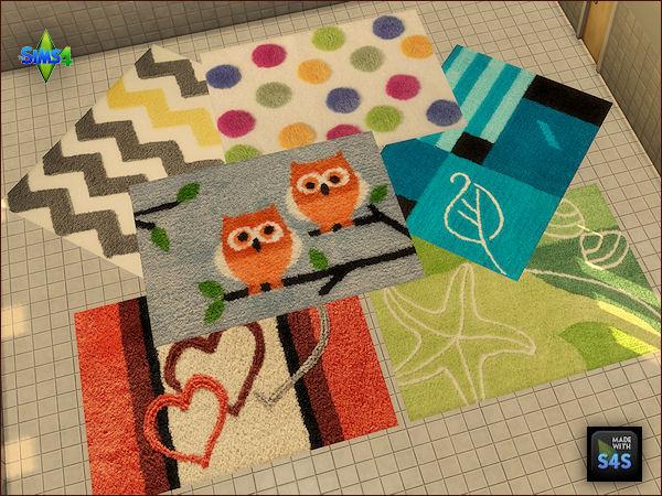 Sims 4 6 bath rugs at Arte Della Vita