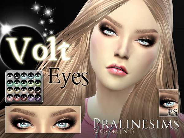 Volt Eyes by Pralinesims at TSR image 829 Sims 4 Updates