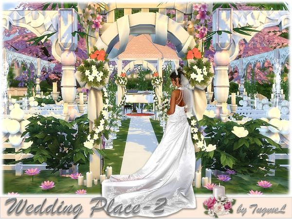 Wedding Place 02 By TugmeL At TSR » Sims 4 Updates