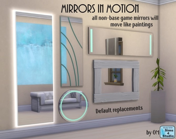 Mirrors In Motion By Om At Sims 4 Studio 187 Sims 4 Updates