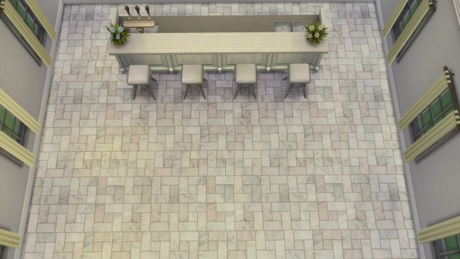 Marbled Stone Tile Flooring by AuntieMame at Mod The Sims image 8516 670x377 Sims 4 Updates