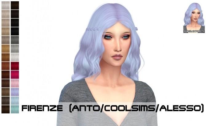 Anto Firenze + Omen hair retexture at Porcelain Warehouse image 8618 670x409 Sims 4 Updates