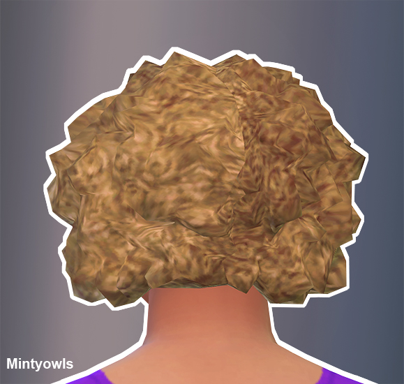 Sims 4 Life is Strange Hair conversion at MintyOwls