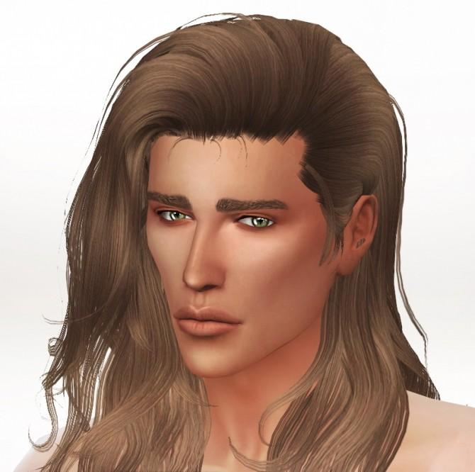 Sims 4 Softness Skin + Marianne Sim Model at S4 Models