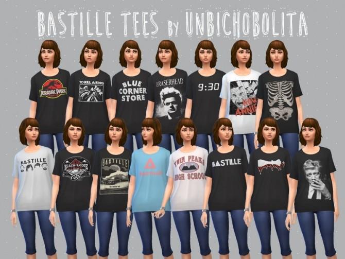 Bastille tees at Un bichobolita image 9010 670x503 Sims 4 Updates