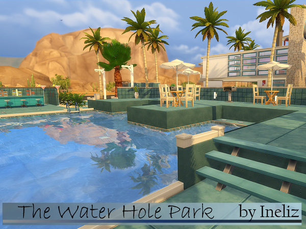 Sims 4 The Water Hole Park by Ineliz at TSR
