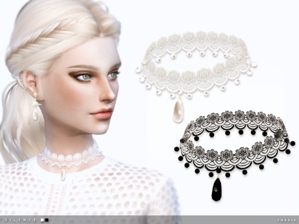 Silence Choker by toksik at TSR image 9020 Sims 4 Updates